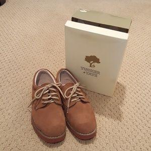 Boys Tucker+Tate Suede Dress Shoes